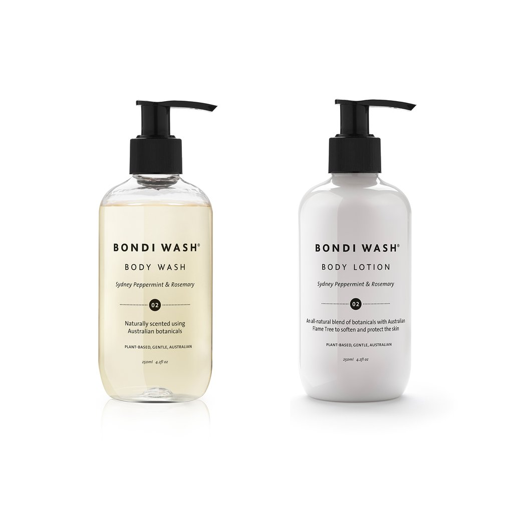 Bondi Wash pamper duo gift box - body lotion & wash