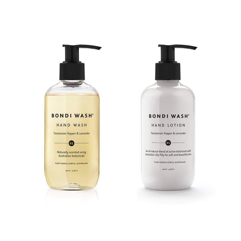 Bondi Wash pamper duo gift box - hand lotion & wash