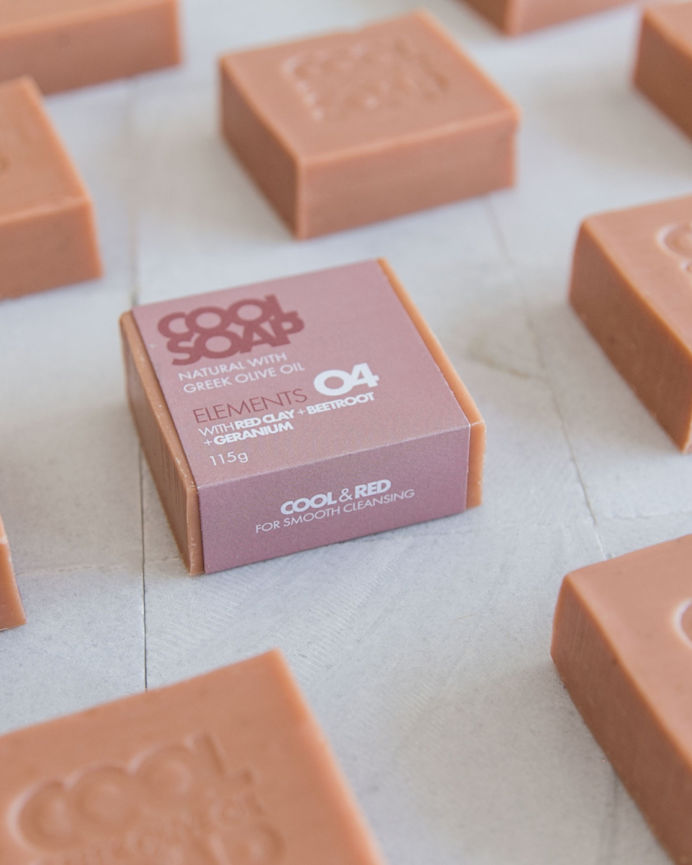 Cool Soap elements beetroot & geranium