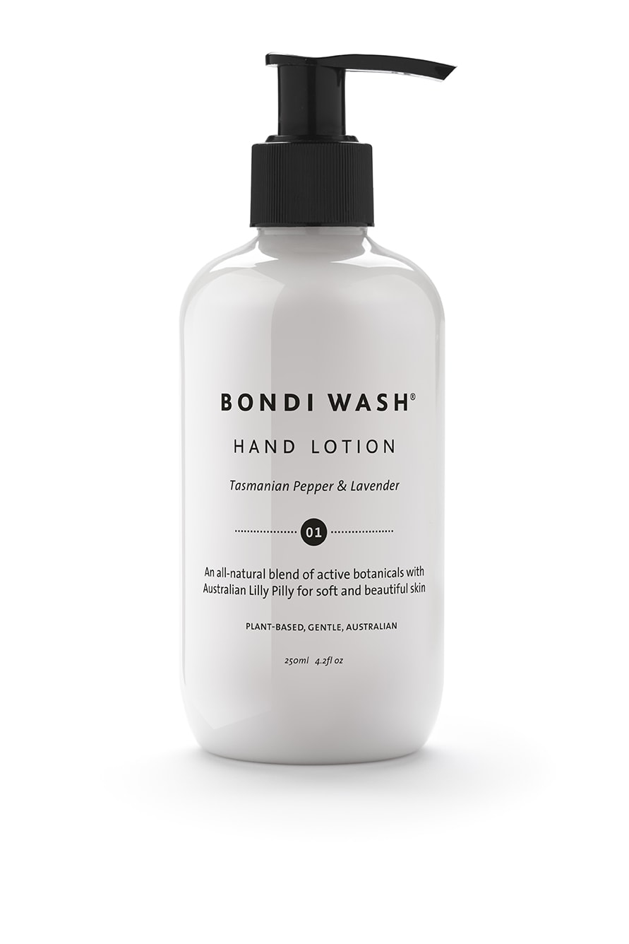Bondi Wash hand lotion - 250ml Tasmanian Pepper & Lavender