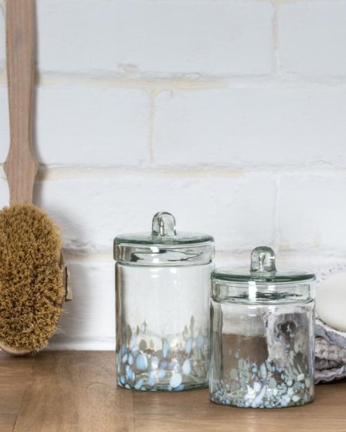 Tamasi bathroom canister - medium Dassie Artisan