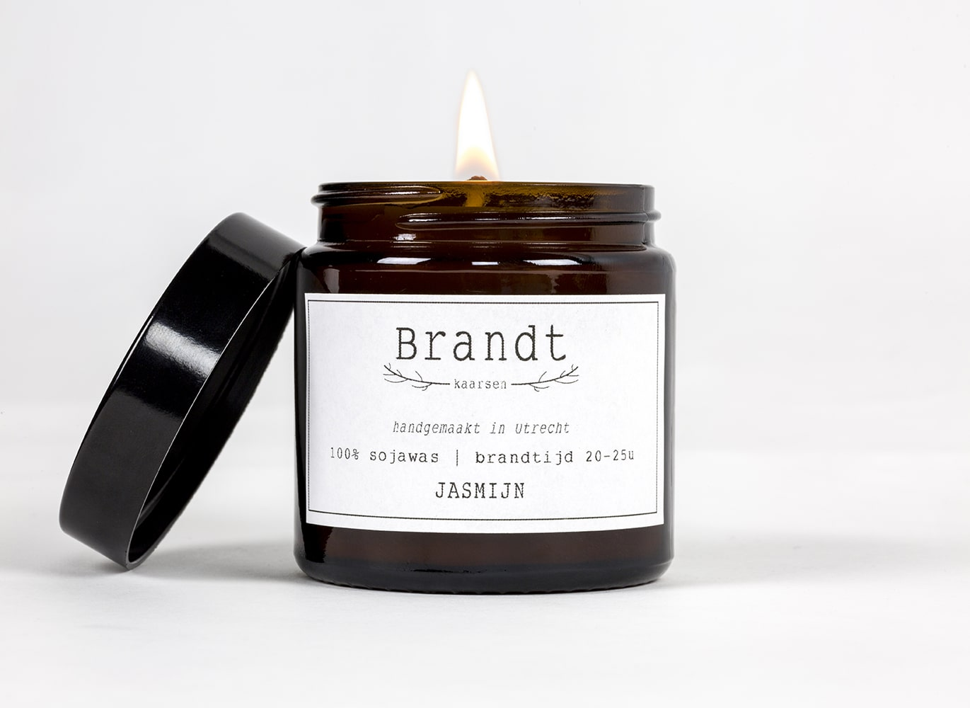 Apothecary candle by Brandt - jasmine